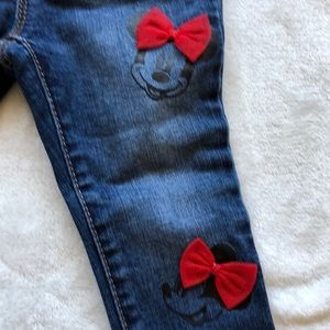 4/$20 Kid Sale! 2 Year Mini Mouse Disney Jeggings